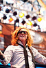 We The Kings lead singer Travis Clark understands stage panache.