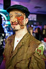 """Tyler """"Rats"""" Clark handled make-up for several zombies."""