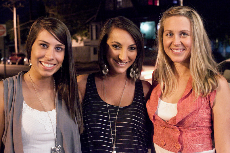 Casey Fortney, Jenny Jerdan, and Charlee Robbins were ready to party at Zanzabar.