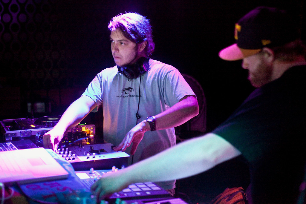 The DJ collective known as Spook Nasty kept the party bumping and primed the crowds as the opening act for Big Gigantic at Zanzabar.