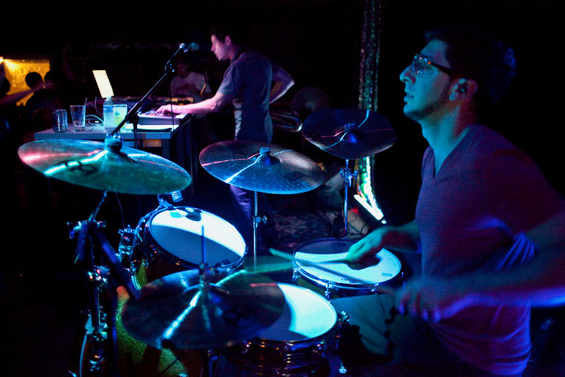 Colorado-based electronica band Big Gigantic brought their show to Zanzabar on Saturday night.