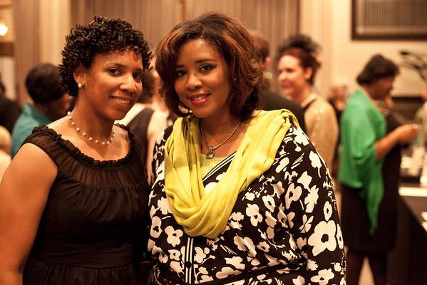 Kenya McGruder and Shanaka Ewing were dressed to impress.