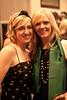 Alli Truttmann and Emily Reed kept the green theme going.