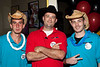 Holding down the door at Electric Cowboy were Mike Constantine, Tony Young, and Brad Shea.