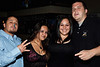 Isidro Gonzalez, Suzi Gonzalez (birthday,) Linda Ortiz, and Tony Scott enjoy a night out at Electric Cowboy.