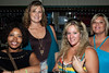 Suglenda Bradley, Renata Glass, Kandyce Clovel, and Jackie Bradley were taking in the scene at Electric Cowboy.