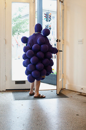 And then walked in a bunch of grapes...