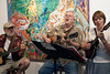 The Potluck Ramblers were one of many bands sprinkled along the Trolley Hop trail on Friday night.