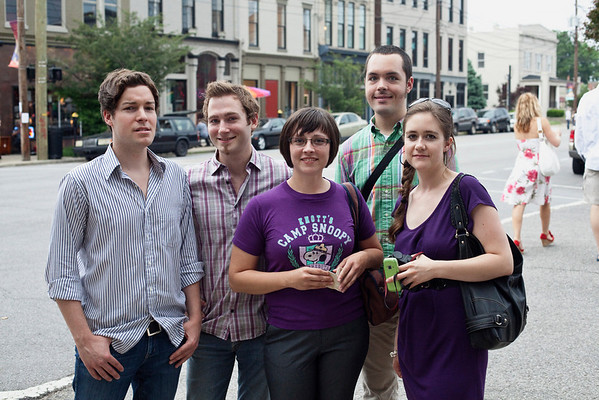 This stylish quintet consists of (L to R) Patrik Cummins, Finley Frebert, Trenton Fuller, Lauren Bosche and Katie McCandless.