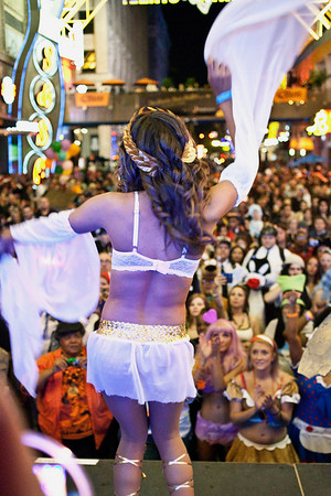 More scenes from the Costume Contest at Fourth Street Live.