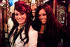 Cincinatti residents Ariel Hodge and Bethany Geblee made the drive to attend Gobblestock at Phoenix Hill Tavern.