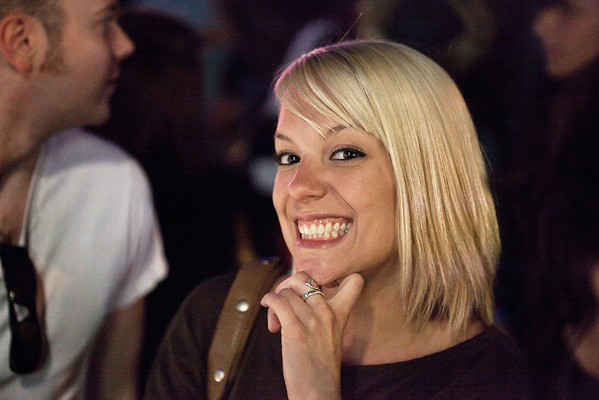 Meghan Bridgers always wins best smile no matter where she goes.