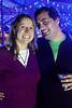 Joy Lanham and Stephen Buchenberger chill VIP-style at Gonzo Fest.