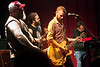 Memphis-based punk rock/country-ish band Lucero played to a packed house of rabid fans at Headliners on Friday night.