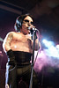 Mini-Marilyn Manson took to the stage and did not disappoint the very receptive fans at the South By South End Festival.