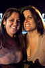 Jenny Domato and Lisa Summers were a happy twosome.