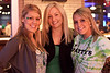 Sisters Trisha and Tiffany Meyer get together with Alexa Hall (center) for a pretty trio shot.