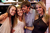 Janna Miller, Jenna Wismer, Katrina Kneabara, and Jimmy Kaufman enjoy some good times together.