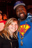 Keely Goss was all smiles as she got the photo opp with Afroman.