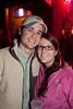 Kevin Daugherty and Savannah Hughes were bedecked in fleece.