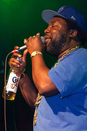 The marijuana-friendly rapper Afroman played to a crowd of fans at Headliners Music Hall on Saturday night.