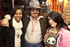 Jelisa Stamp and Emma Newton made the drive in from Lexington to see the show. Johnny Depp impersonator Dale Clark was just an added bonus.