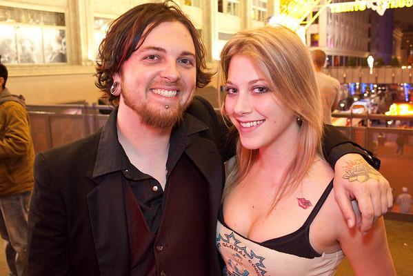 M. Valentine and Rebecca Irvin were on the scene.