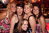 Aimie Gilbert, Mandy Owens, Amber Scott, Ashley Forbes, and Beth McGregor get wild and crazy.