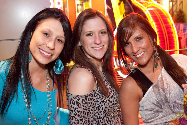 Charrisse Patterson, Christina Patterson, and Savanah Rall came to party.