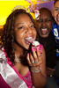 Arica Brown celebrates her birthday with cupcakes and friends at Hotel.
