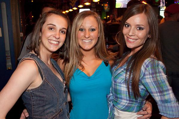 Jana Plant, Chelsie Crume, and Lauren Pfeiffer were a triple threat of good times.
