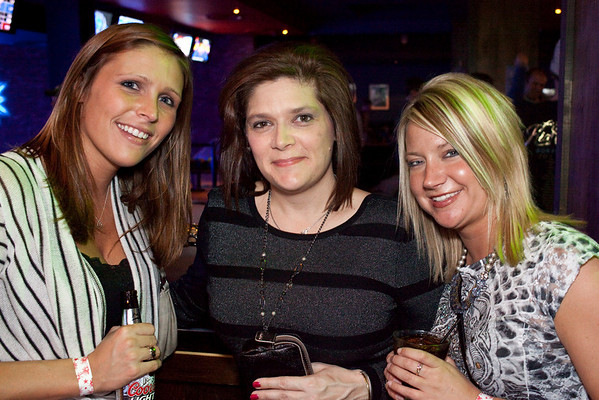 Ashley Rivers, Jody Wolff, and Amanda Beel welcome the night.