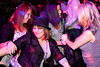 Chelsea Walsh, Emily Skees, Steph Brown, and Chelle Fergersun get down on the dance floor.