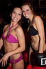 Lauren Pfeiffer and Tracy Zellers were the finalists in another night of female combat at Sports & Social Club. Crowd response awarded Zellers the victory in Bikini Boxing.