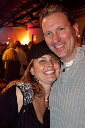 Todd and Traci Holt let the good times roll.