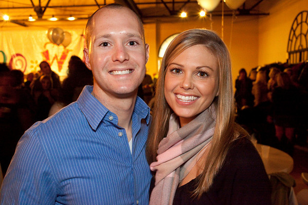 Brent and Kelly Stice were all smiles during the Cabo Wabo Coat Party at Mellwood Arts Center on Saturday night.