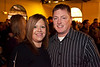 Sarah Skaggs and Chris Ewing were partying for a good cause.