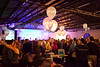 Balloons adorned the tables as charity Cabo Wabo hosted a Coat Party at the Mellwood Art Center on Saturday night.