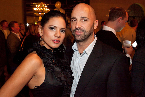 Karla Carr and Jeff Cohen were a stylish pair.