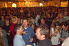 Several hundred people filled the massive banquet space at Mellwood Art Center for the Cabo Wabo Coat Party.