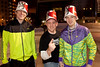 """The """"Bucketheads"""" came to party: Justin Fentress, Dusty Reynolds, and Justin Reynolds."""