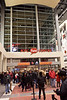 The crowds flowed into the KFC Yum Center on Saturday night to see the UofL Mens Basketball team defeat DePaul University 61-57.