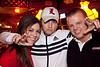 Lauren Mattingly, Phil Radcliff, and Colin Sinnard were celebrating the UofL win.