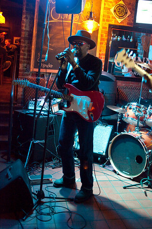 Live blues music was on the menu at O'Shea's Tavern on Friday night.