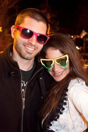 Arijan Kevric and Mary Hannah Cinson sport their favorite shades.