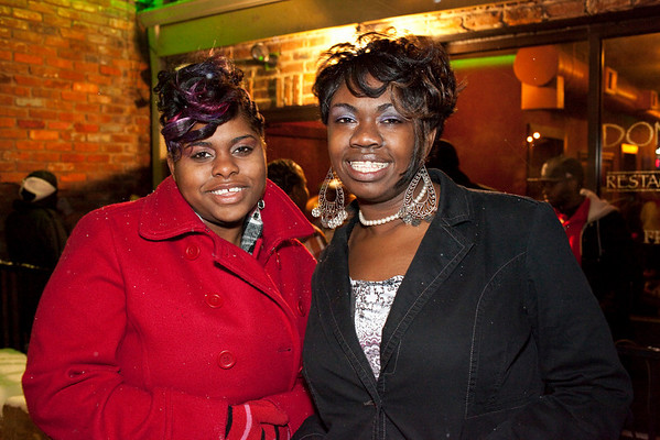 Cemyl Rich and Shawquita Scott party down at Donegan's