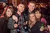 Emilie Dupaquier, Bill Ashburn, Darren Hardy, Abby Hardy, and Celeste Grover share some good times.