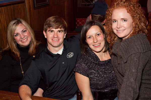 Erin Flannagan, Davy Clay, Krista Brown, and Michelle Flynn came to party.