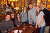 Rachel Schwager (center in grey sweater) celebrated her birthday with friends at Flanagan's on Friday night.