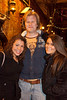 Chanda Givans, Kyle S. Geltmaker, and Whitney Greenwood hang out at O'Shea's.